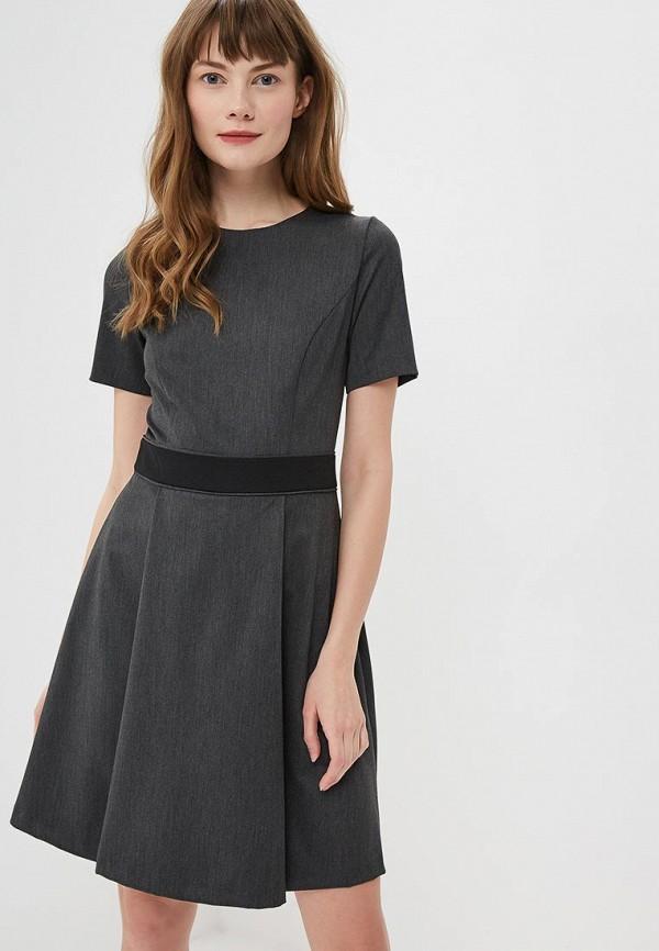 женское повседневные платье mondigo, серое