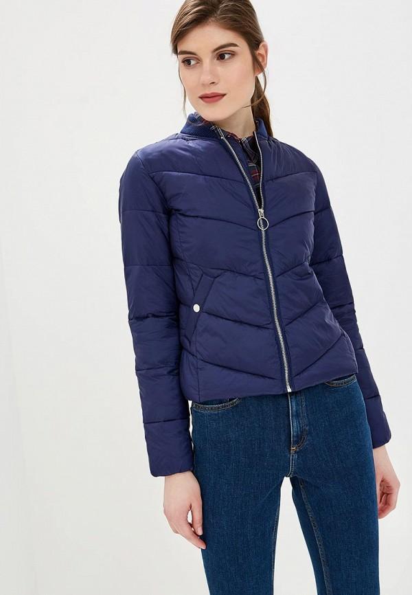 Купить Куртка утепленная Befree, mp002xw1igat, синий, Весна-лето 2019