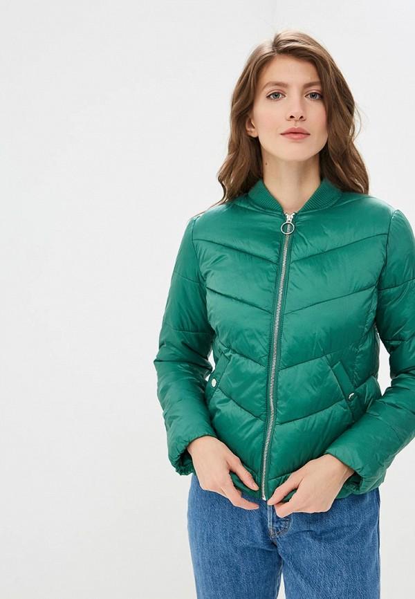 женская куртка befree, зеленая