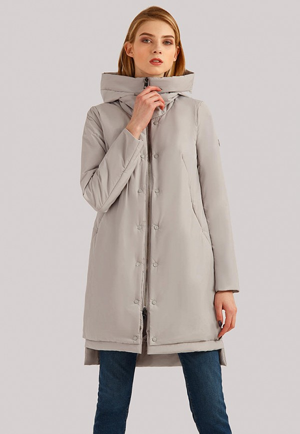 Куртка утепленная Finn Flare Finn Flare MP002XW1IGBO куртка женская finn flare цвет светло серый cw18 17000m 211 размер l 48