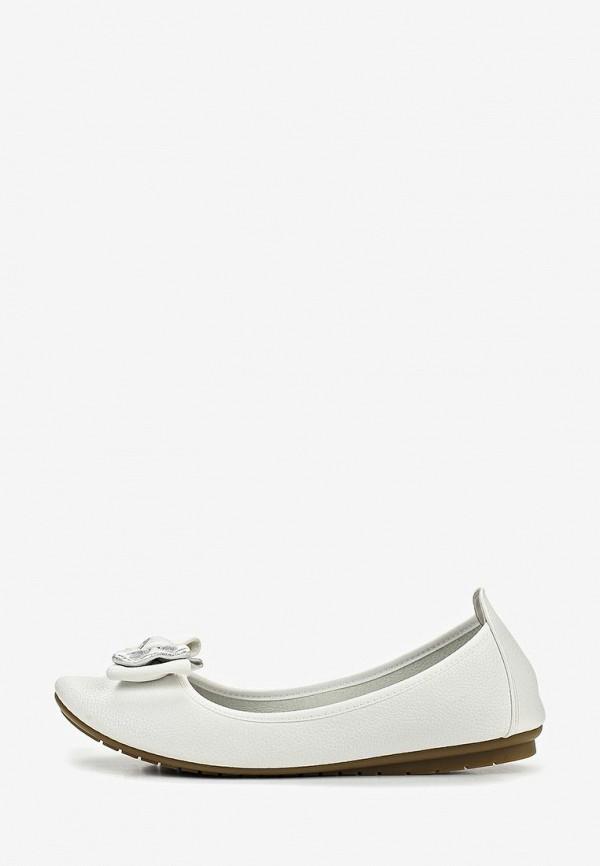 женские балетки t.taccardi, белые