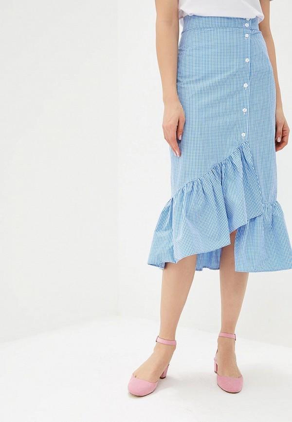 женская юбка fashion.love.story, голубая