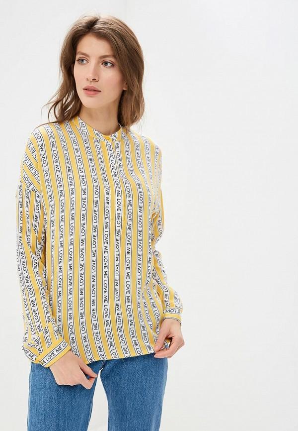женская блузка befree, желтая