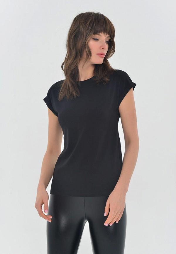 женская футболка mondigo, черная