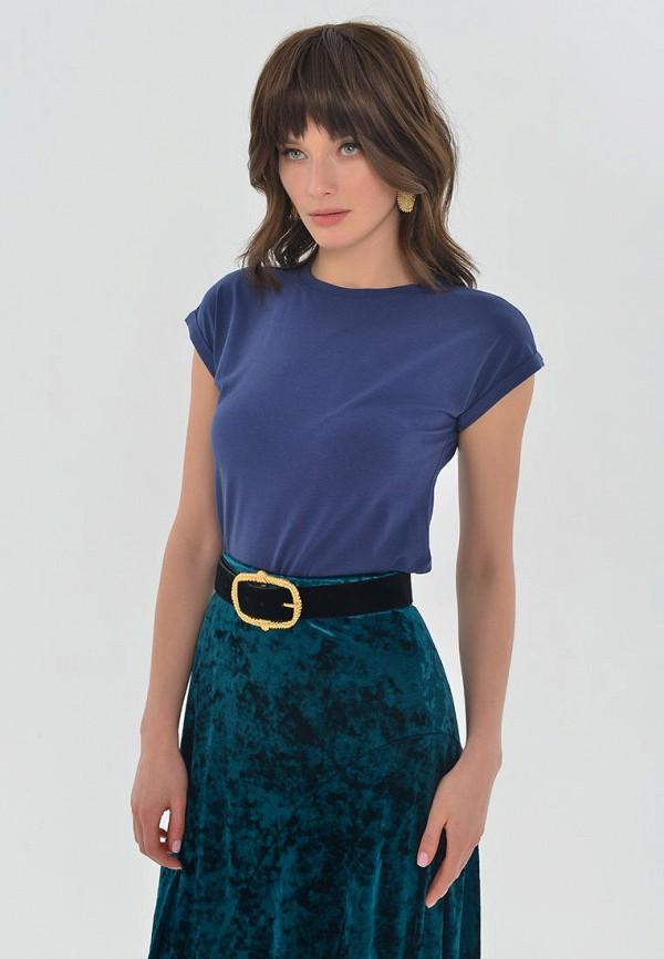 женская футболка mondigo, синяя