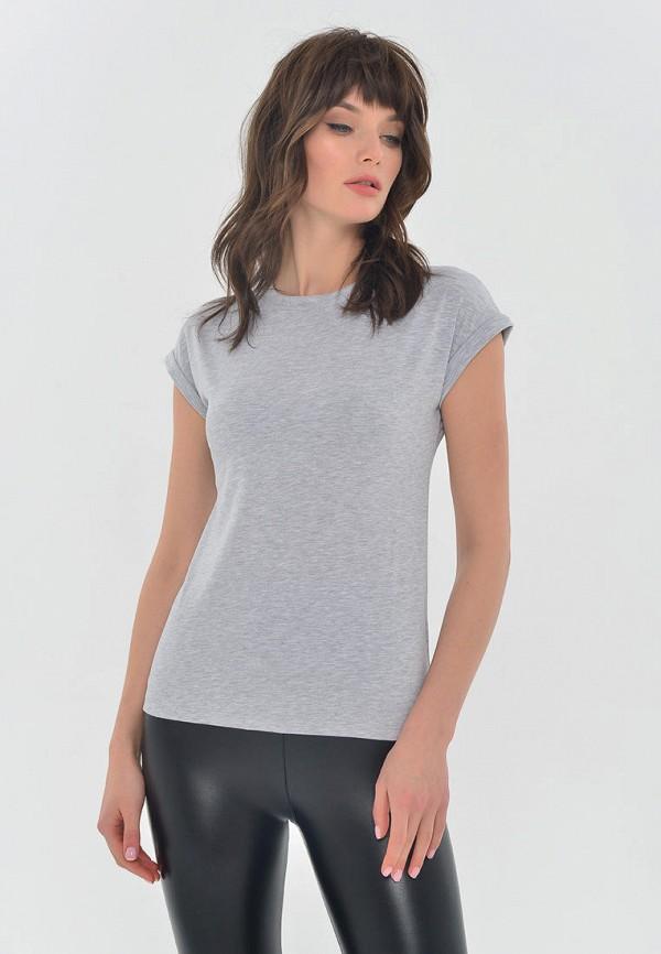 женская футболка mondigo, серая