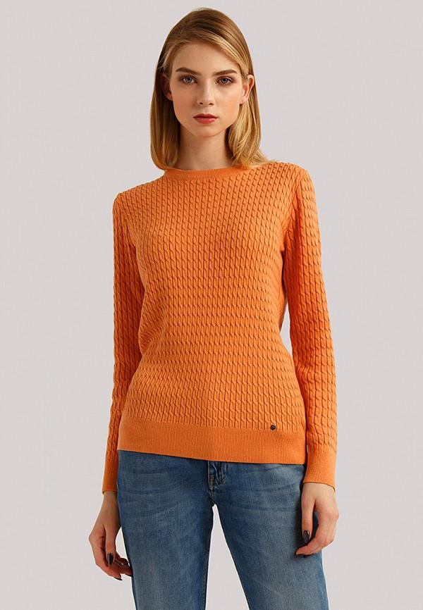 женский джемпер finn flare, оранжевый