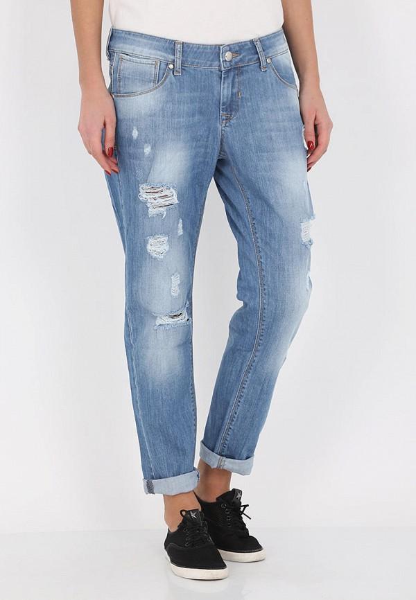 женские джинсы бойфренд whitney, голубые