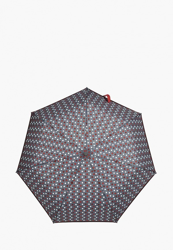 женский складные зонт henry backer, серый