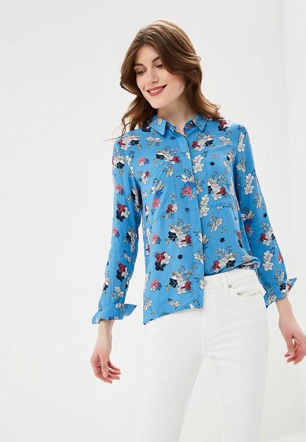 женская блузка top secret, голубая