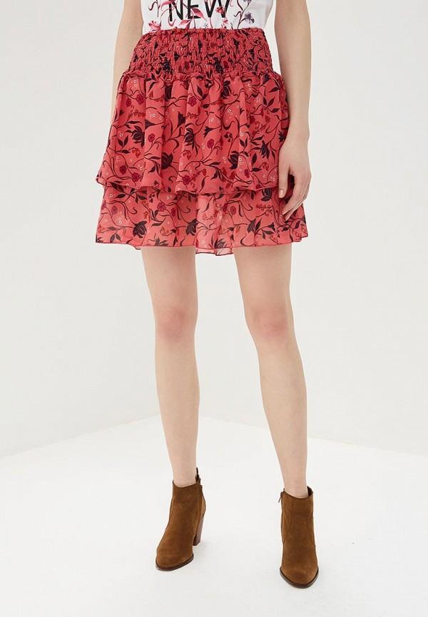 женская юбка top secret, розовая