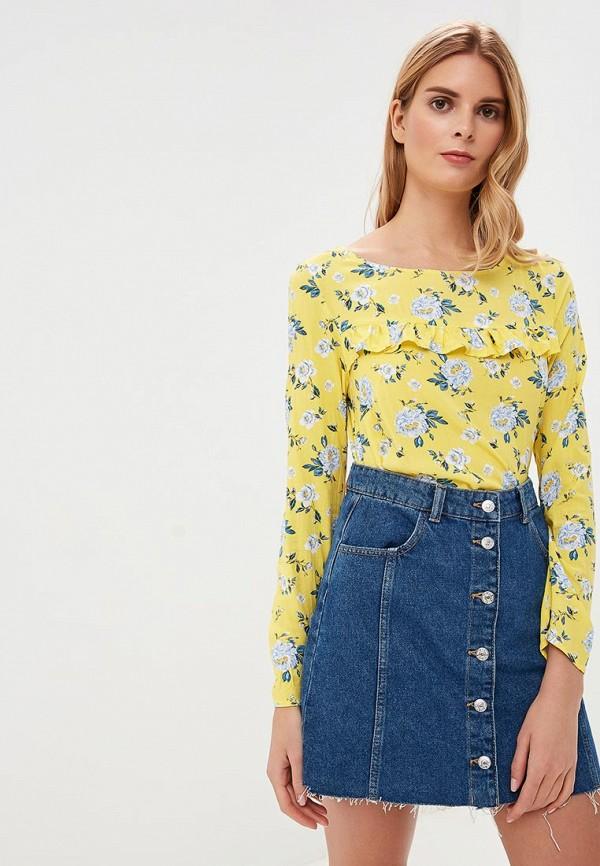 женская блузка top secret, желтая