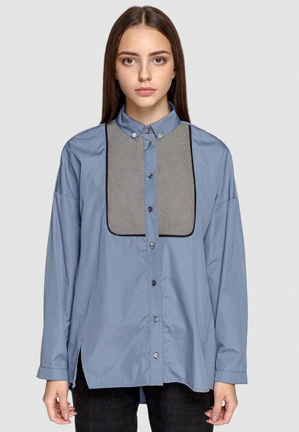женская рубашка dolcedonna, голубая