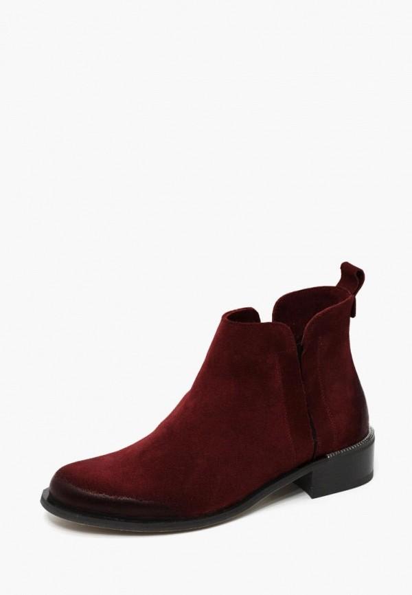 женские ботинки modus vivendi, бордовые