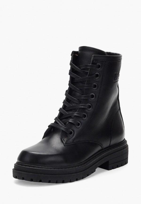 женские ботинки broni, черные