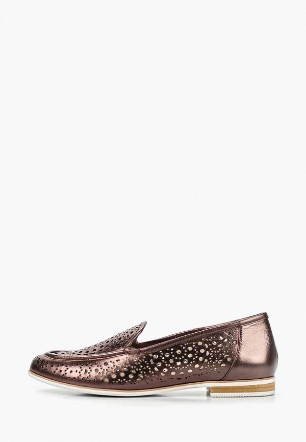 женские лоферы m.shoes, коричневые