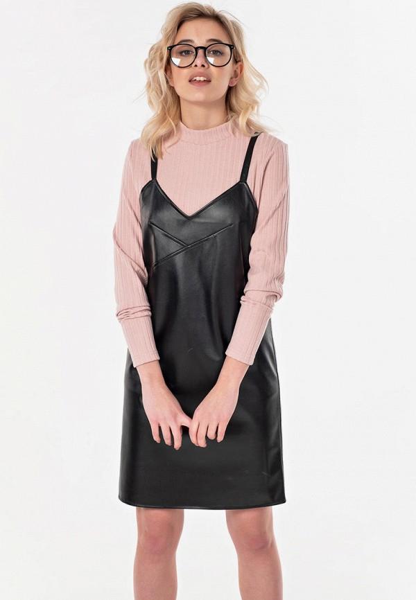 женское платье fly, черное