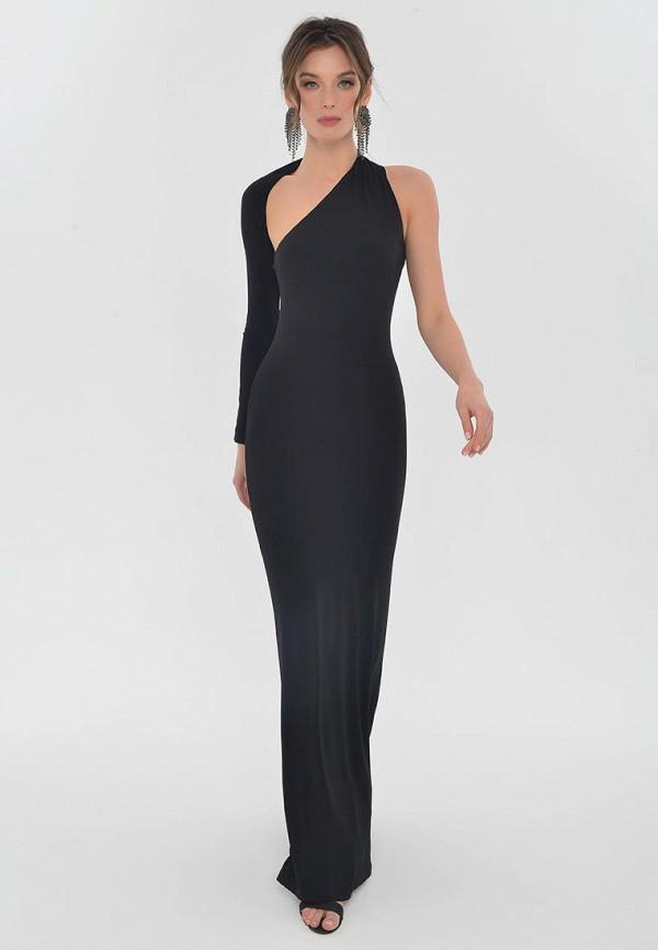 женское вечерние платье mondigo, черное