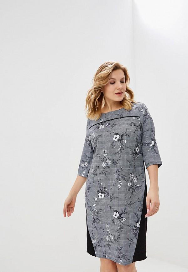 женское платье venusita, серое