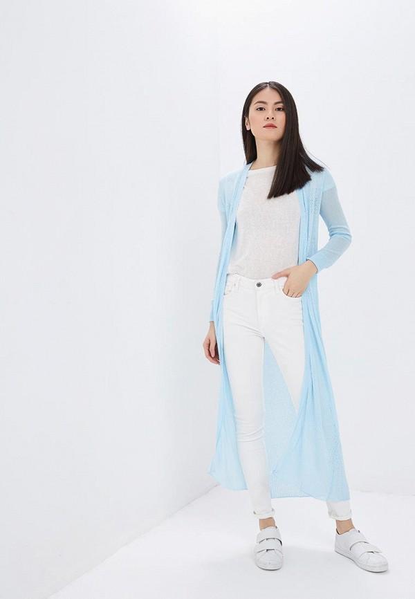 женский кардиган milanika, голубой