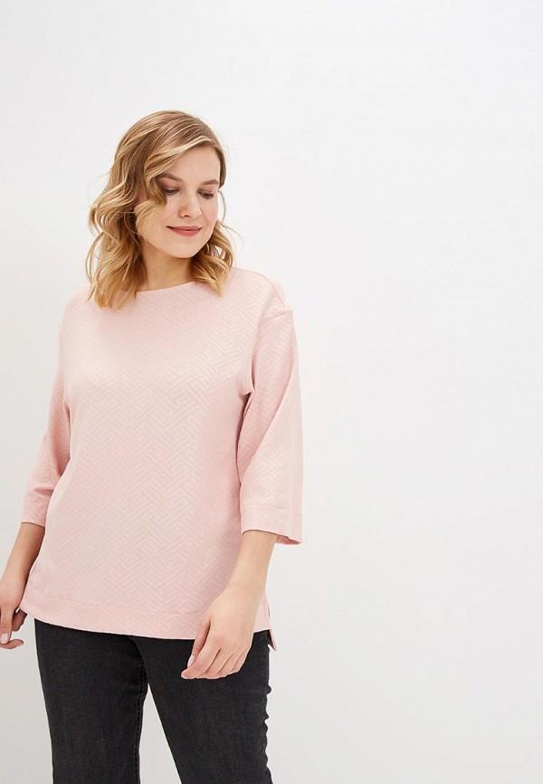 женский свитшот olsi, розовый