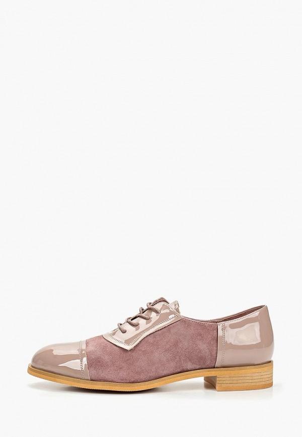женские ботинки berkonty, розовые