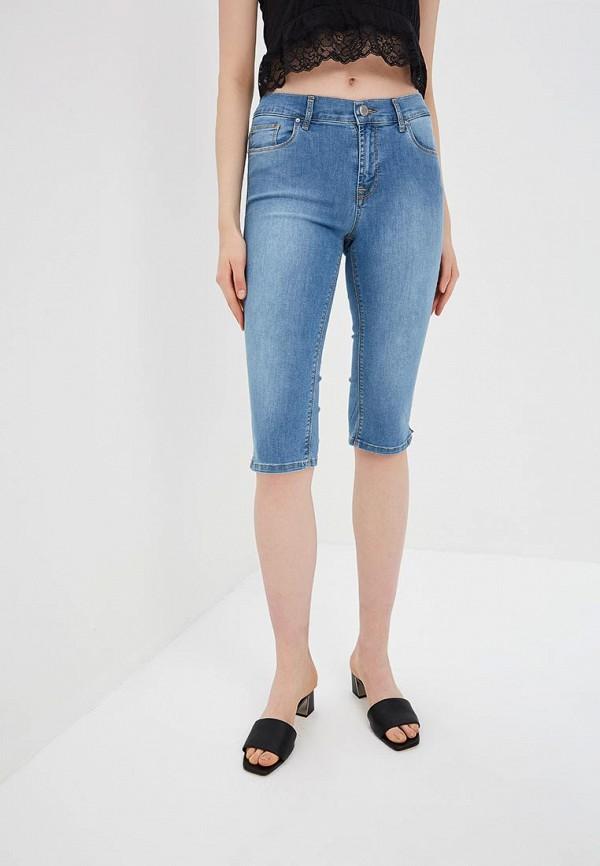 женские джинсовые шорты whitney, голубые