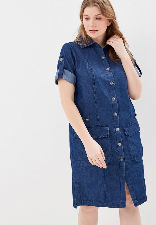 женское джинсовые платье berkline, синее
