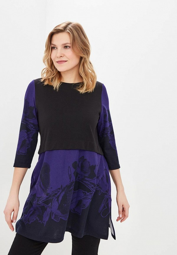 женская туника olsi, фиолетовая