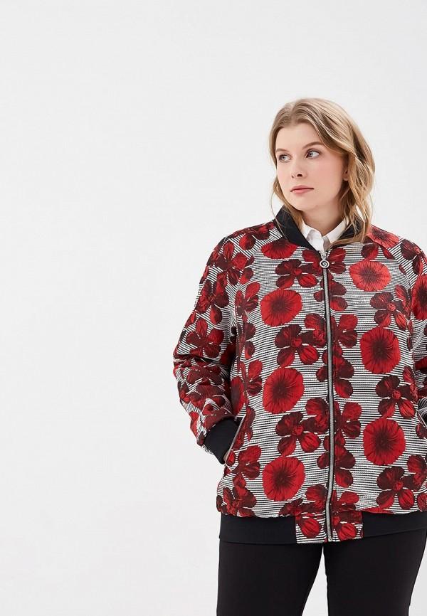 женская куртка berkline, красная
