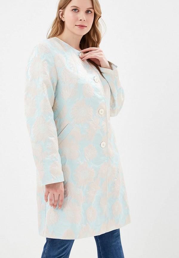 женское пальто berkline, голубое