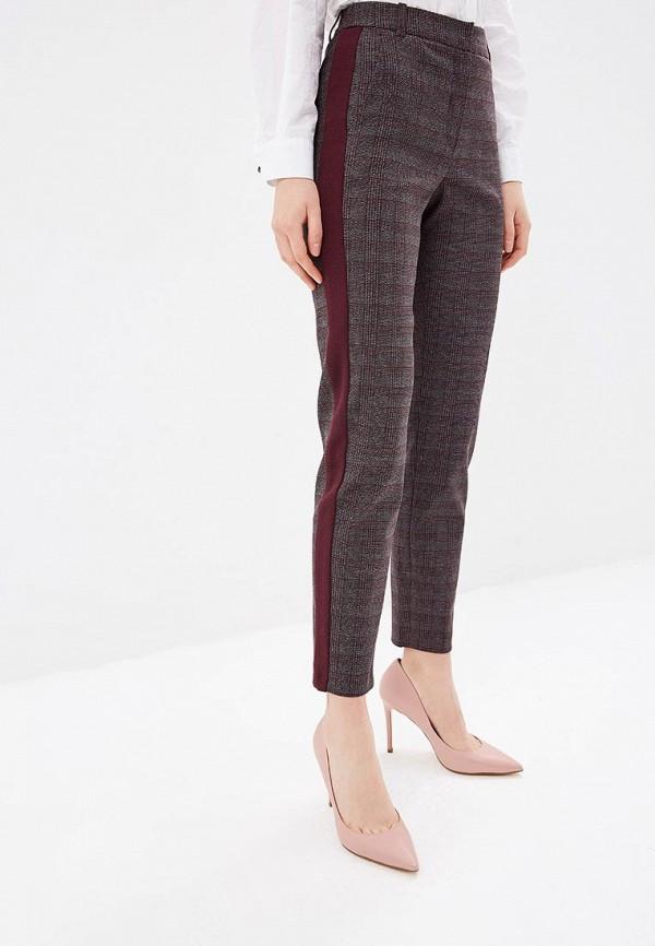 женские классические брюки ksenia knyazeva, бордовые