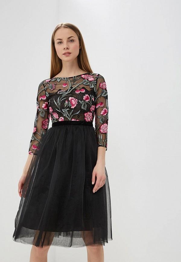женское вечерние платье ksenia knyazeva, черное