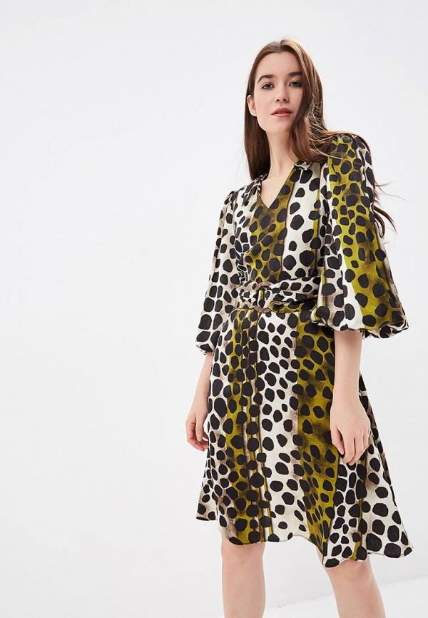 женское повседневные платье ksenia knyazeva, разноцветное