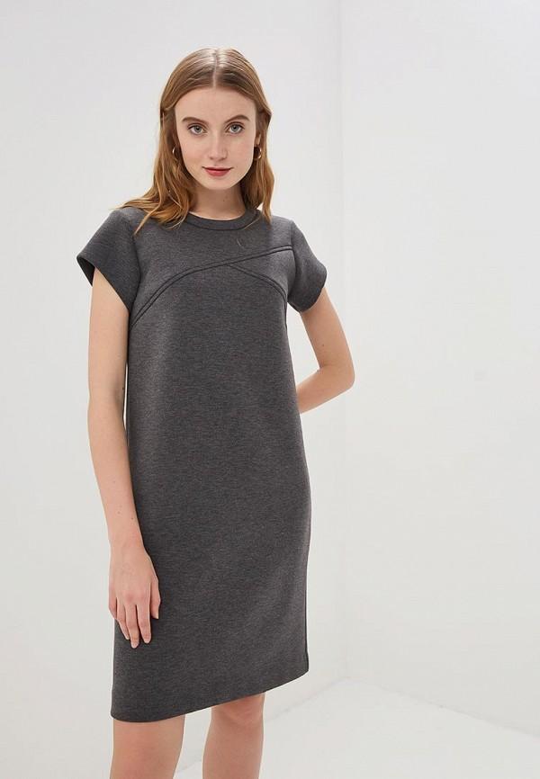 женское платье eliseeva olesya, серое