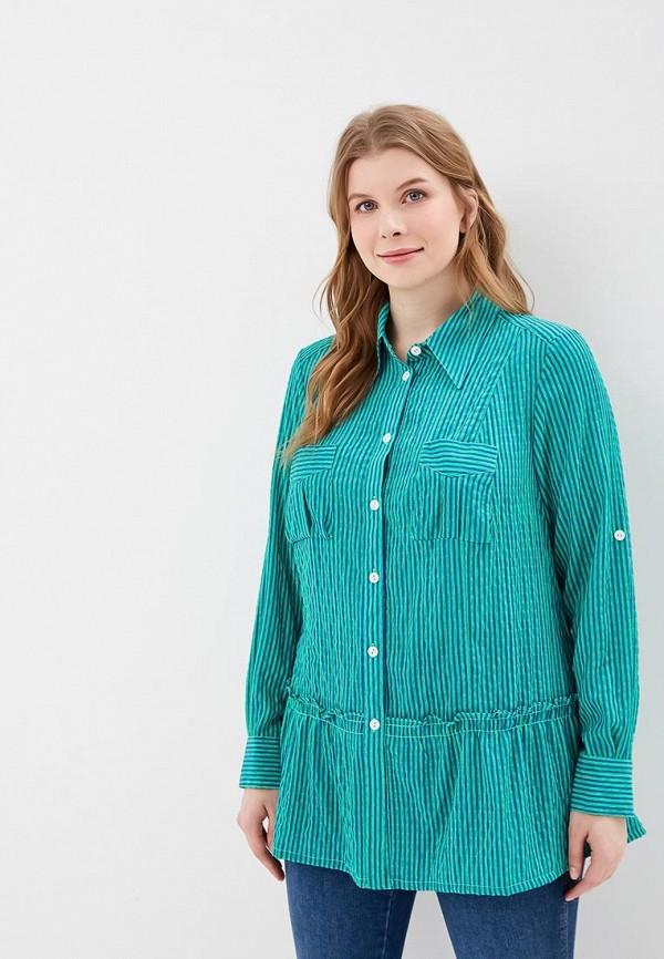 женская блузка berkline, зеленая