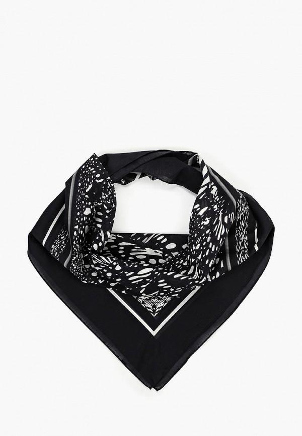 Платок Madeleine Madeleine MP002XW1II9F платок черный с ландышами