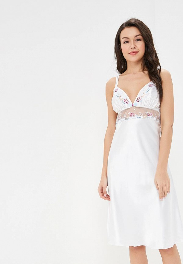 женские сорочка ночная gorsenia, белые