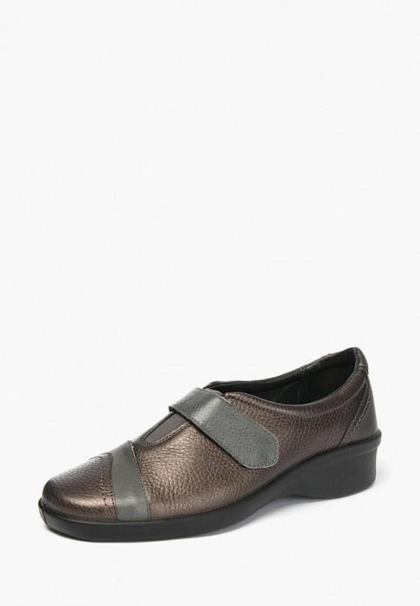 женские туфли tellus, коричневые