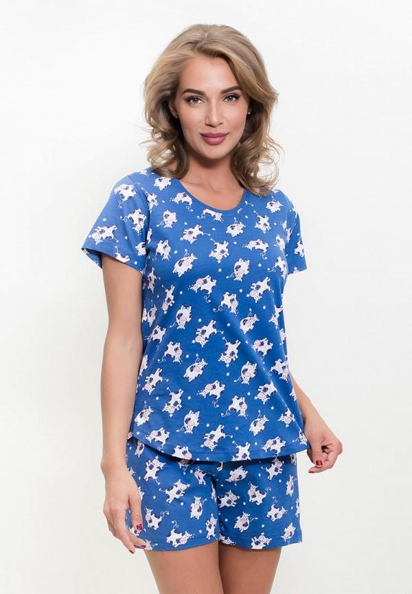 Пижама Vienetta Vienetta MP002XW1IIHU пижама женская vienetta s secret цвет синий розовый 511165 5297 размер xl 50