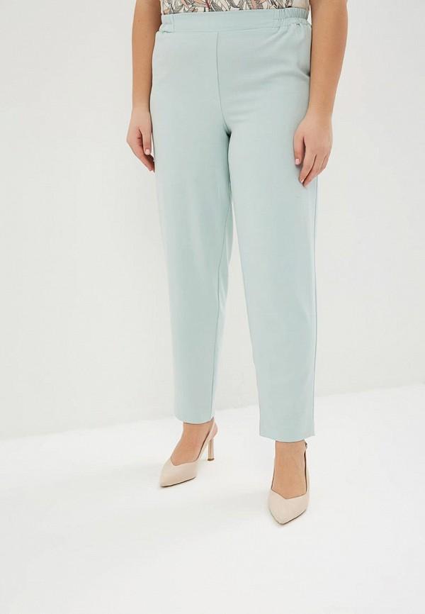 женские зауженные брюки averi, бирюзовые