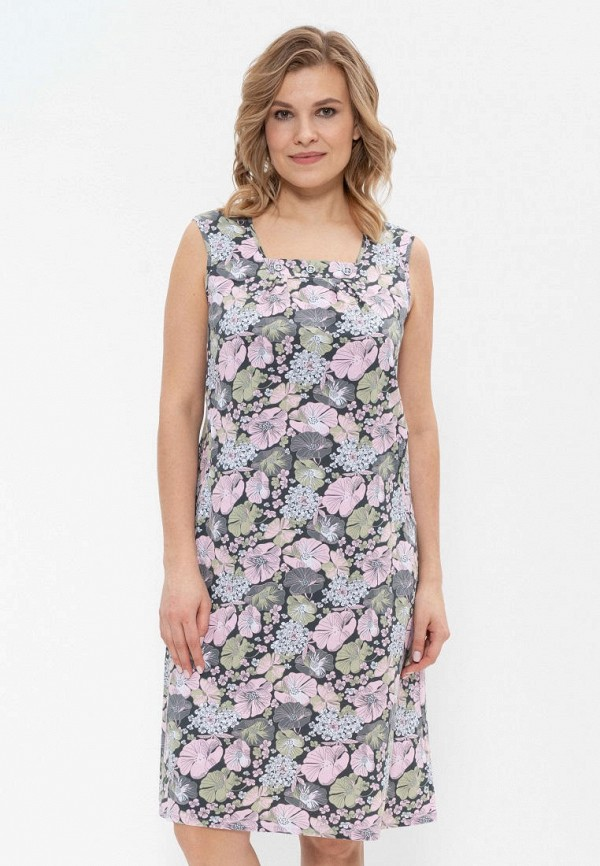 Платье домашнее Cleo Cleo MP002XW1IILW платье домашнее cleo орнамент цвет ментоловый 828 размер 42