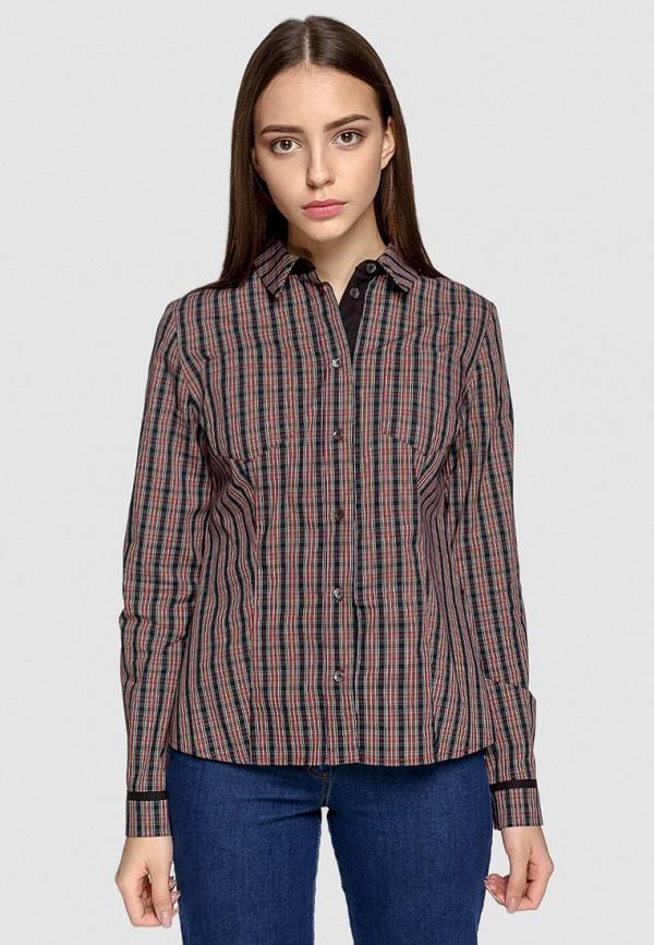 женская рубашка с длинным рукавом dolcedonna, разноцветная