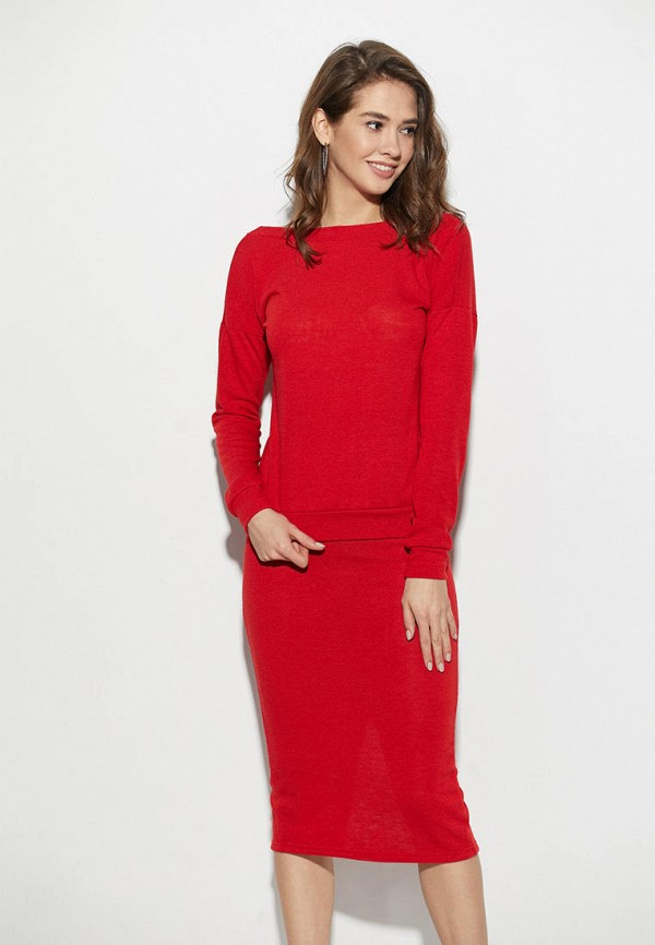 женский костюм karree, красный