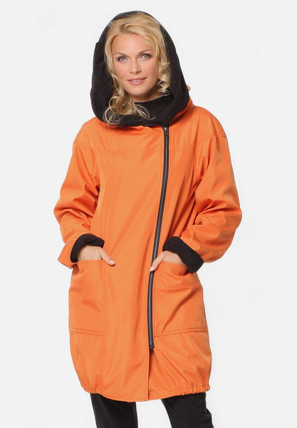 женская куртка kata binska, оранжевая