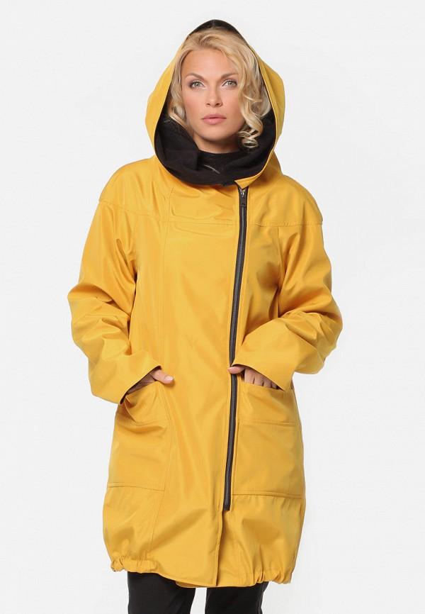 женская куртка kata binska, желтая