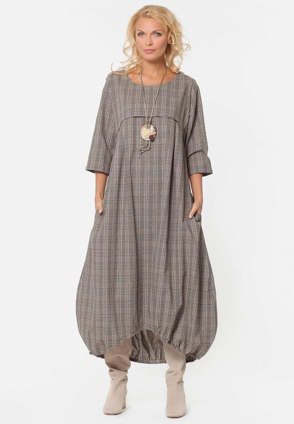 Платье Kata Binska Kata Binska MP002XW1IIYI повседневное длинное платье kata binska