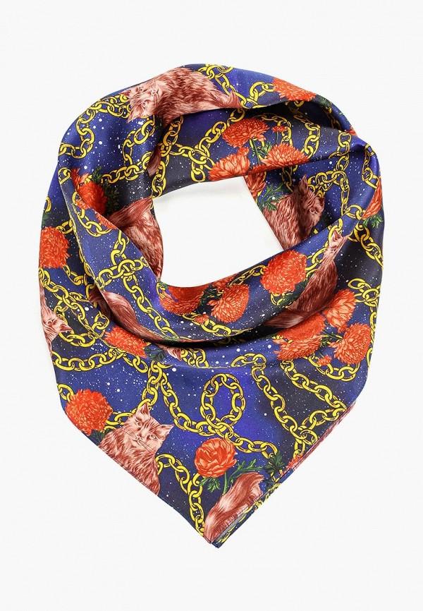 женский платок ksenia knyazeva, разноцветный
