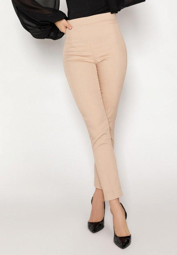 женские повседневные брюки gepur, бежевые