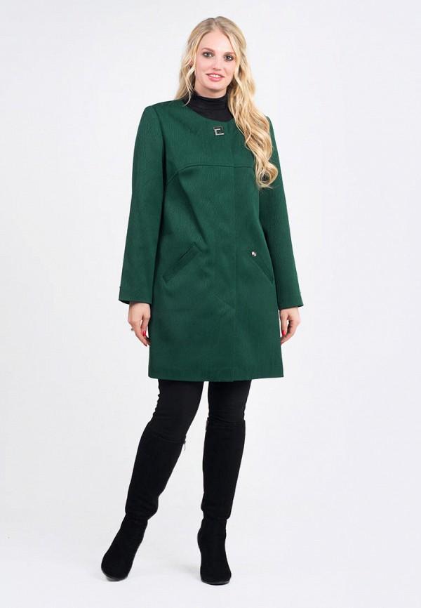 женское пальто vicco, зеленое
